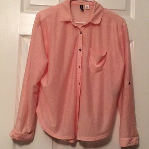 BDG, Pink Button Up
